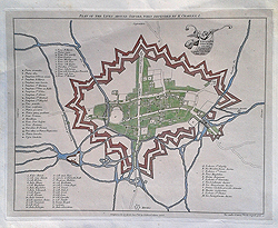Oxford Civil war map for sale