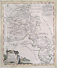 Oxfordshire antique map
