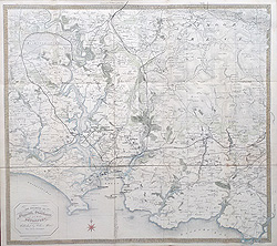 Plymouth and South Devon Victorian map