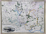Plymouth Antique city map