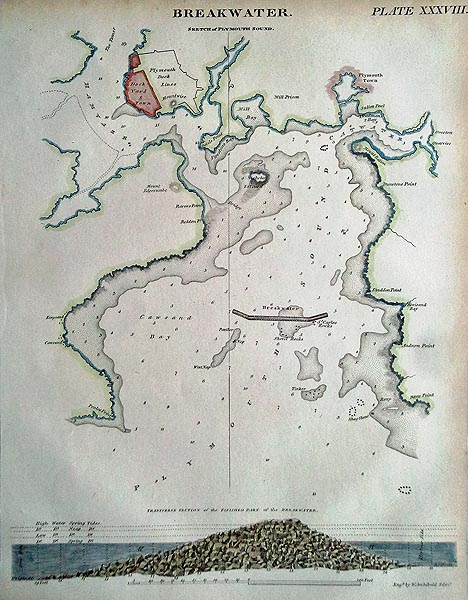Antique Map of Westmoreland by Thomas Moule