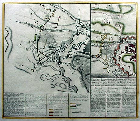 Prague Battle Plan 1743