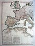 Map of Ancient Europe - Roman Empire