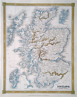 Scotlnad antique map