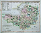 Somerset old map