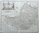 Somerset map - 18th century Morden