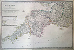 South West of England Victorian Map