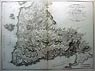 Old map of the Island of Troade - Greece