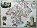 Westmoreland Moule map