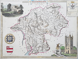 Westmoreland Moule map for sale