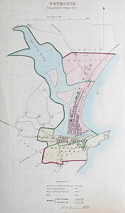 Weymouth Town plan for sale