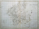 Worcestershire County Map by Harrison