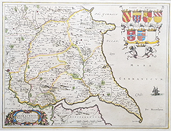 Blaeu map of East Riding Yorkshire for sale